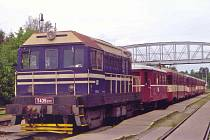Historický vlak Herold Expres.