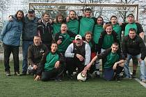Vítěz 2. ligy příbramského malého fotbalu - tým FC/DC.