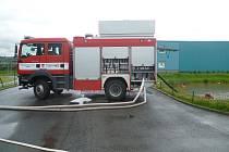 Velká voda. Zásah příbramských dobrovolných hasičů.