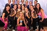 Zlato a dva bronzy. Celkem tři medaile putovaly zásluhou členek Sportovního klubu Oxygen do Příbrami z mistrovství Evropy družstev v aerobiku v Krakově.