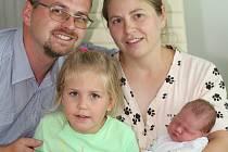 Stefan Gerling se narodil 23. srpna 2020 v Příbrami. Vážil 4,05 kg. Doma v Slavkově u Brna syna přivítali maminka Natália, tatínek Tomáš a sestra Alexandra.