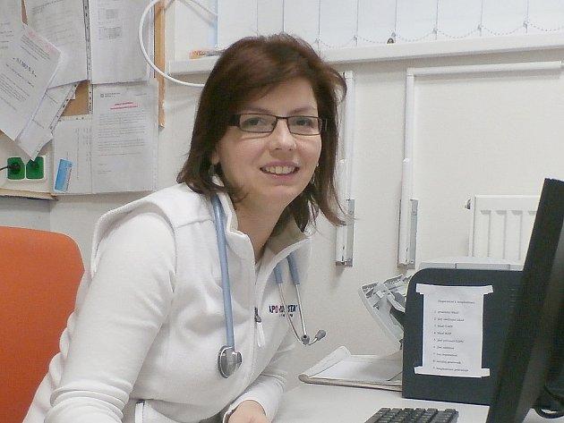 Petra Jeníčková, příbramská internistka.