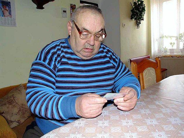 Josef Pour, rodák ze Záběhlé v Brdech.