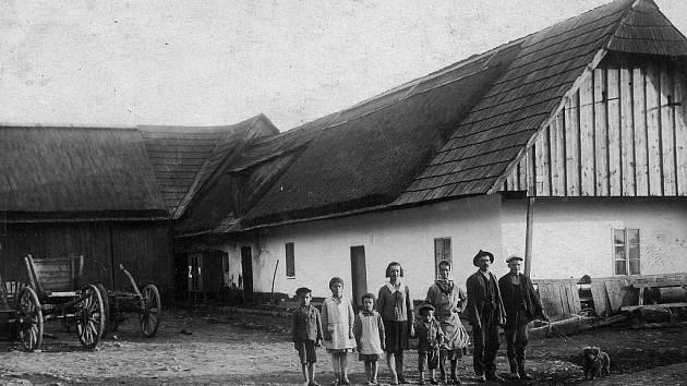 Historické snímky ze Záběhlé.