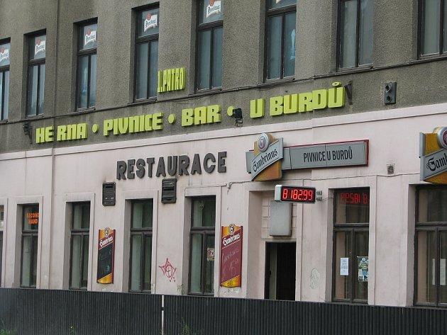 Koncert radikálů se konal v restauraci U Burdů v Příbrami.