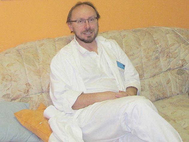Internista příbramské nemocnice MUDr. Jan Horník.