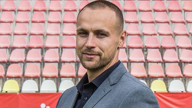 Ředitel 1. FK Příbram Jan Starka