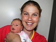 HELENKA DRAŽANOVÁ se narodila v pondělí 22. května,vážila 2,69 kg a měřila 48 cm. Radost z prvního potomka mají rodiče Tereza a František z Příbrami.