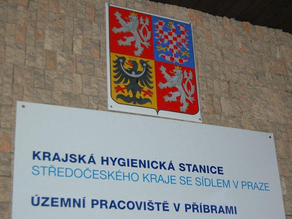 Krajská hygienická stanice Středočeského kraje, územní pracoviště v Příbrami.