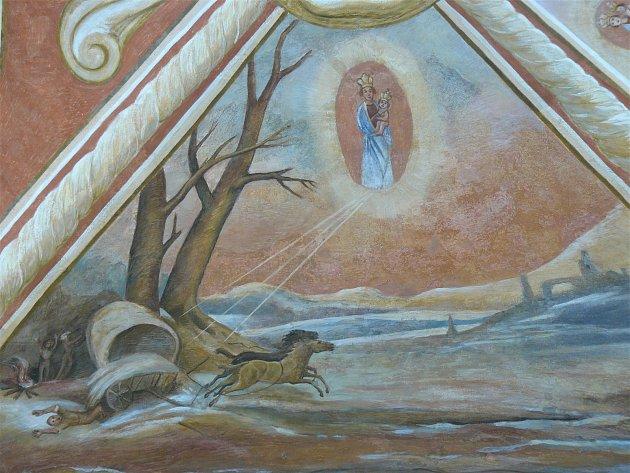 Sto svatohorských milostí: obraz číslo 39.