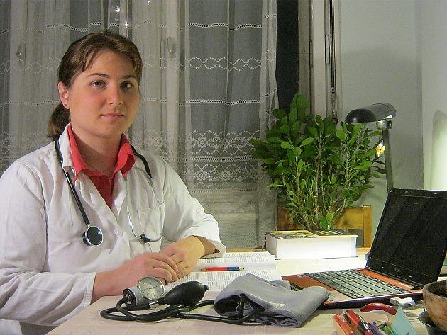 Internistka Věra Staňková.