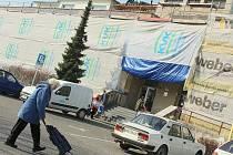 Středisko zdraví v Dobříši bude staveniště nejdéle do konce letních prázdnin.