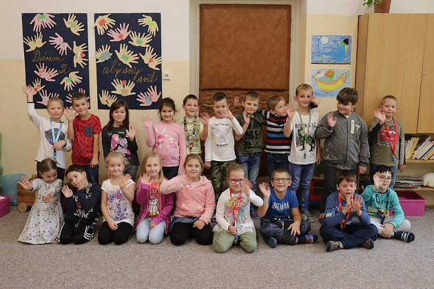 Základní škola Jiráskovy sady vPříbrami: třída 1.C.