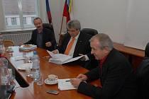 Snímek ze zasedání Rady města Příbrami