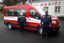 Nové zásahové vozidlo dobrovolných hasičů Starého Rožmitálu.