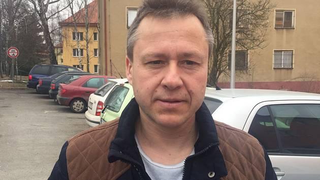 Předseda fotbalového klubu Podlesí Radim Černohorský.