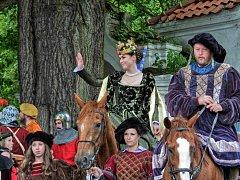 Den s českou královnou Johankou