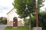 Kaplička za obecním úřadem