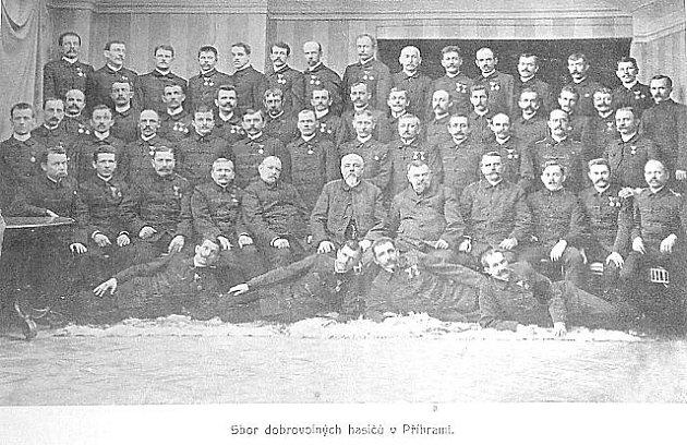 Sbor dobrovolných hasičů Příbram.