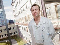 Pavel Hanek, primář urologického oddělení v příbramské nemocnici.