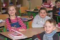 Prvňáci ze Základní školy 28. října v Příbrami
