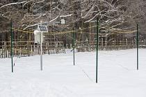 Automatická sněhoměrná stanice Českého hydrometeorologického ústavu.