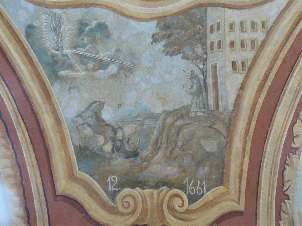 Sto svatohorských milostí: obraz číslo 12.