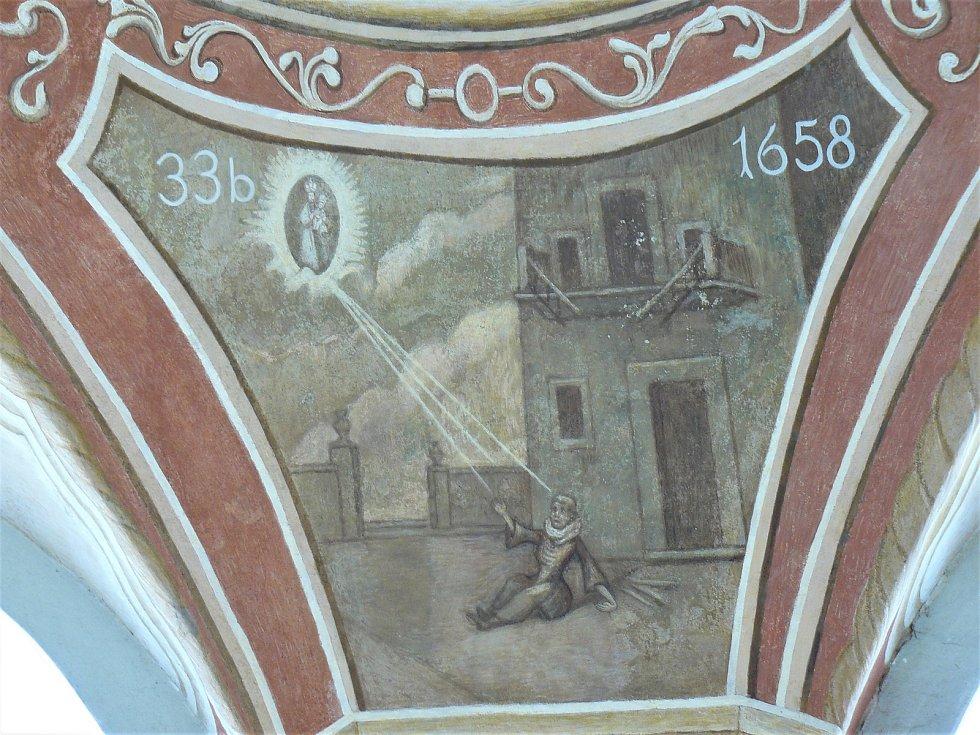 Sto svatohorských milostí: obraz číslo 33b.