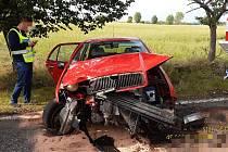 Nehoda u Jablonné.