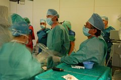 Operace v příbramské nemocnici