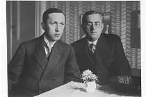 Bratři Karel a Josef Čapek.