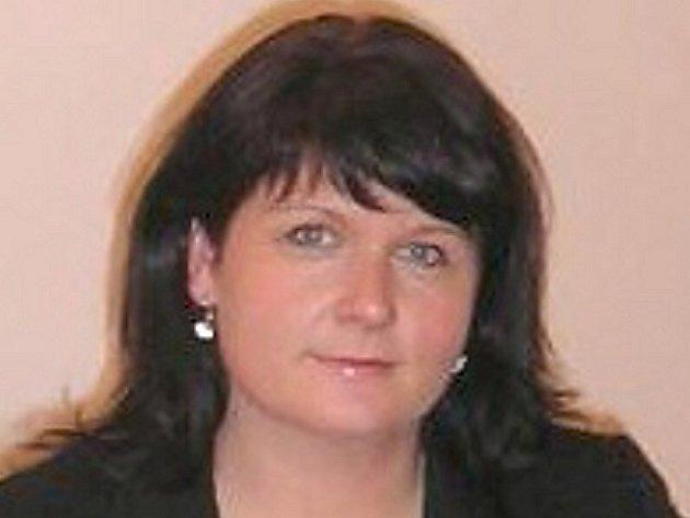 Markéta Balková, starostka Hvožďan.