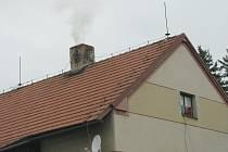 Kouř z komína