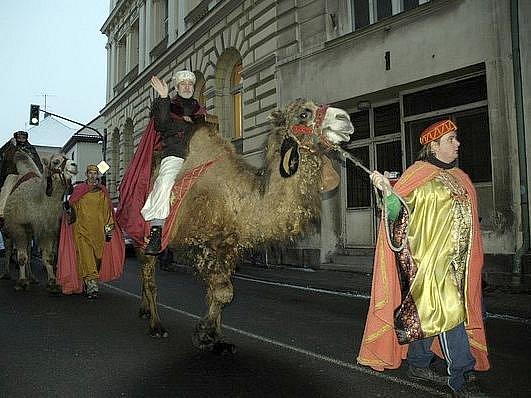 Tři králové zavítali po roce opět do Příbrami