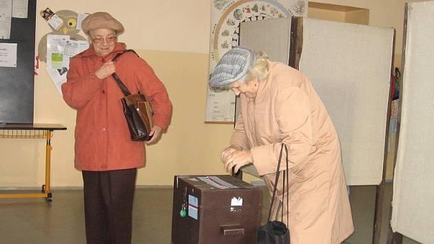 Volby v Příbrami