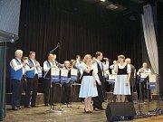 Rožmitálská Venkovanka na jarním koncertu.