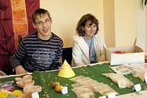 Děti z ALKY tvořily výrobky v rámci ergoterapie
