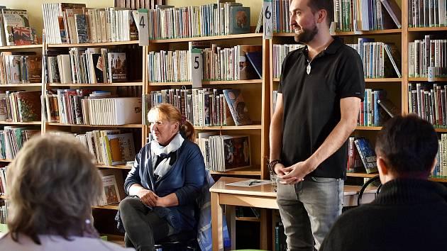 Slovenská spisovatelka měla besedu v Knihovně Jana Drdy v Příbrami.