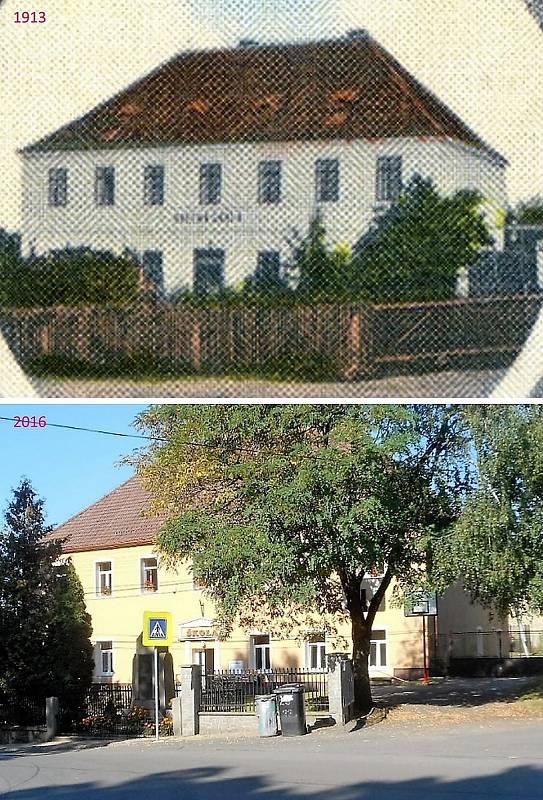 Pičín -  Obecná škola.