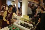 V estrádním  sále příbramského Divadla A. Dvořáka se po tři dny ochutnávala čokoláda. Konal se zde tradiční Čokoládový festival.