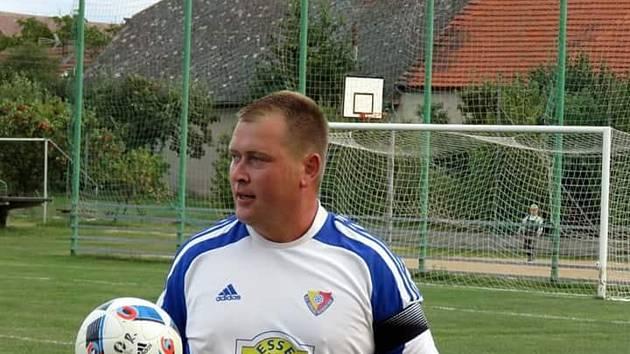 Kapitán Rosovic Jan Pinsker pomohl k výhře nad Jinci jedním gólem.
