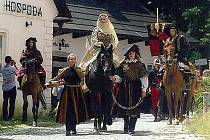 Den s českou královnou Johankou.