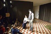 Letošní příbramská Noc divadel se konala opět v prostorách Gymnázia pod Svatou Horou.
