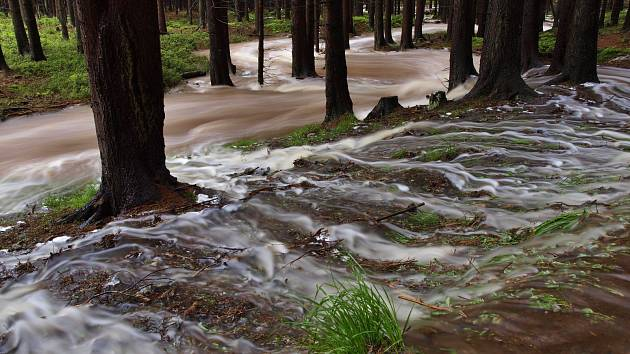 Potoky v Brdech.