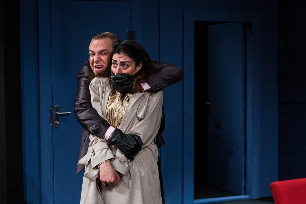 Blíží se premiéra představení Spojovací dveře v příbramském divadle.