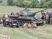Rekonstrukce poslední bitvy 2. světové války v Evropě