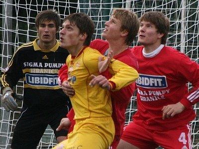 1. liga st. dorostu, 16. kolo: Marila Příbram - Sigma Olomouc (3:7).