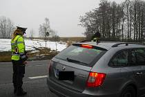 O víkendu policisté kontrolovali, zda řidiči nepili před jízdou alkohol.