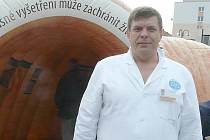 DOKTOR Sergej Jurčenko ze sedlčanské nemocnice.