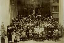 Italští uprchlíci na Svaté Hoře.